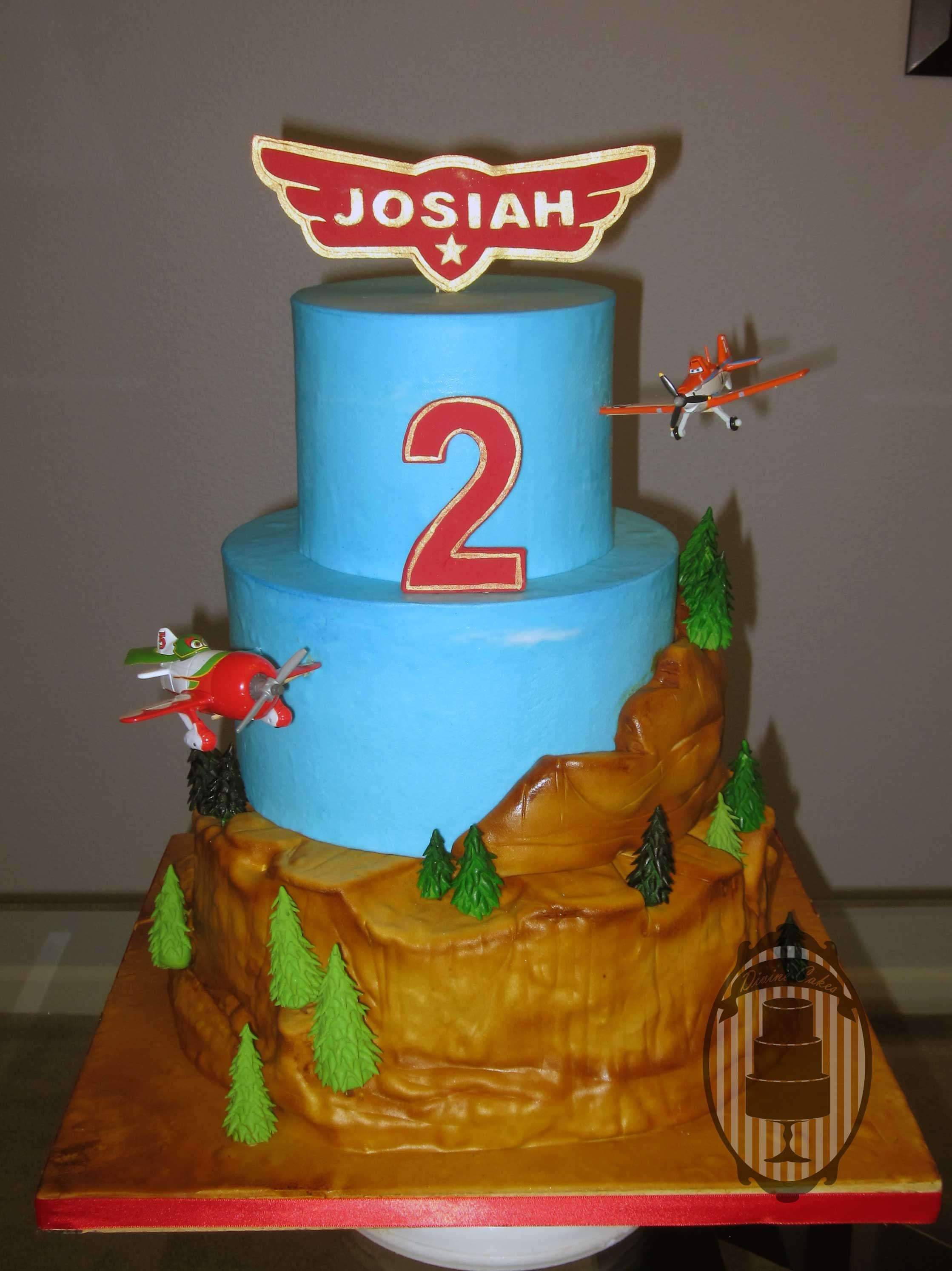 Planes Dusty Crophopper And El Chupacabra Cake