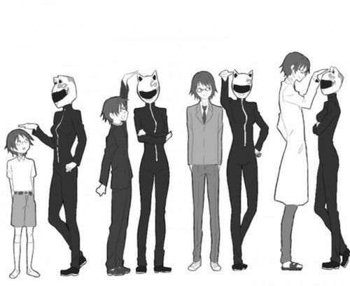 #shinra #celty #love