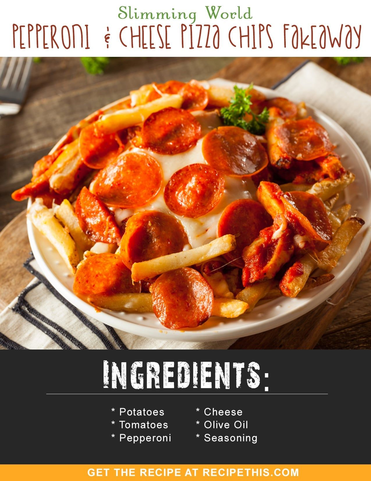 Slimming World Pepperoni & Cheese Pizza Chips