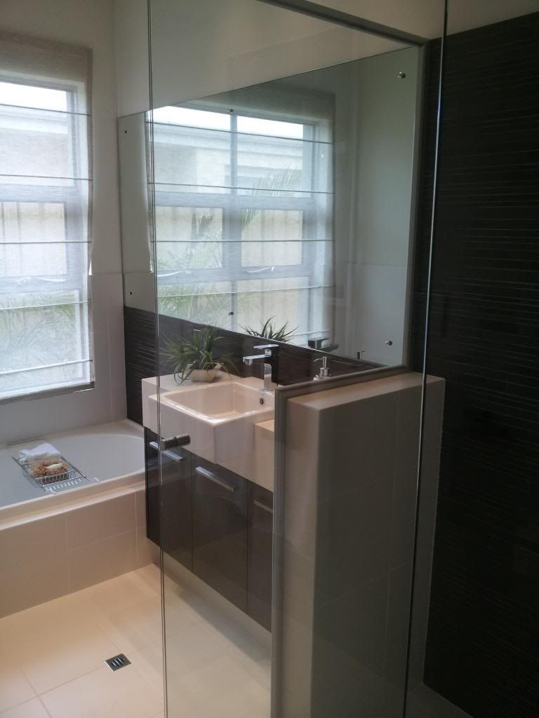 View Topic Space Between Shower Screen And Vanity Home Renovation Building Forum Small Bathroom Renovations Small Bathroom Makeover Bathroom Renovation