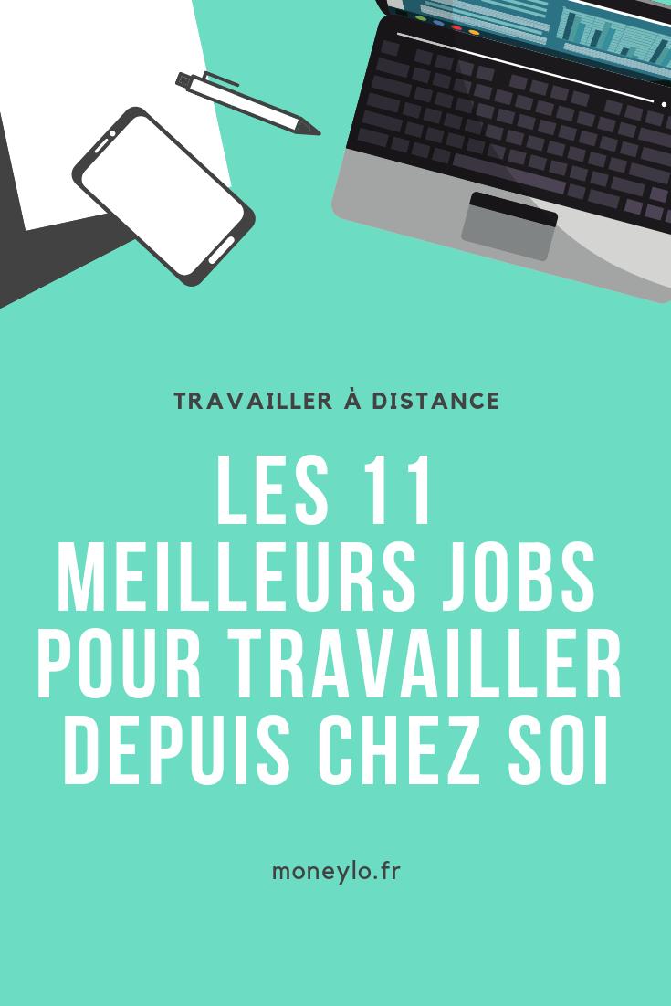 Travail à domicile : 10 idées de jobs à distance  Gagner de l