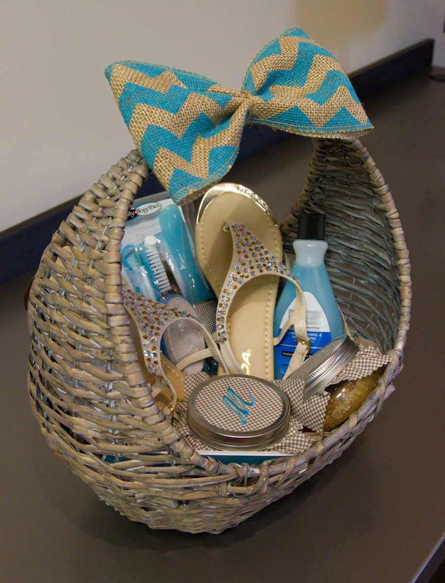 DIY Homemade Foot Scrub Recipe Mother's day gift baskets