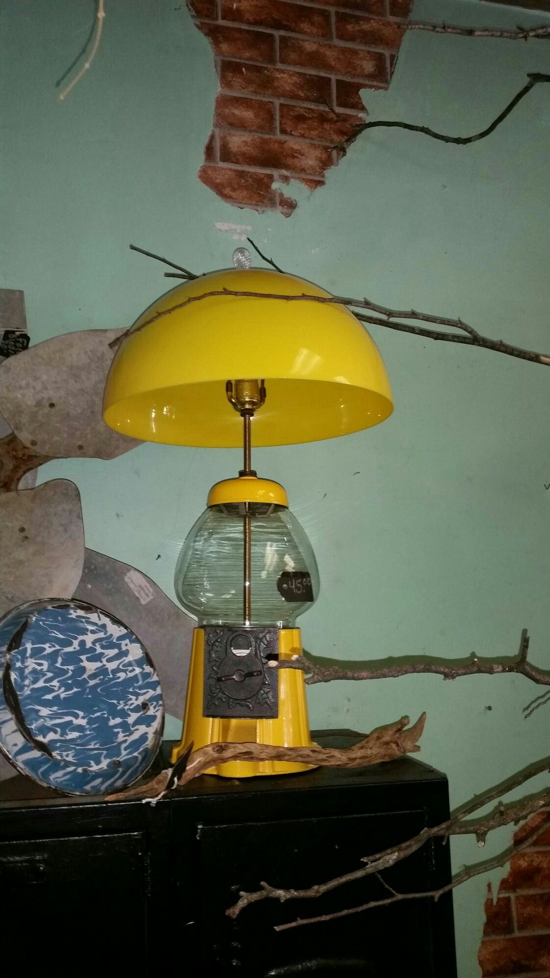 Gumball Machine Lamp 45 00 Upcycling Extraordinaire