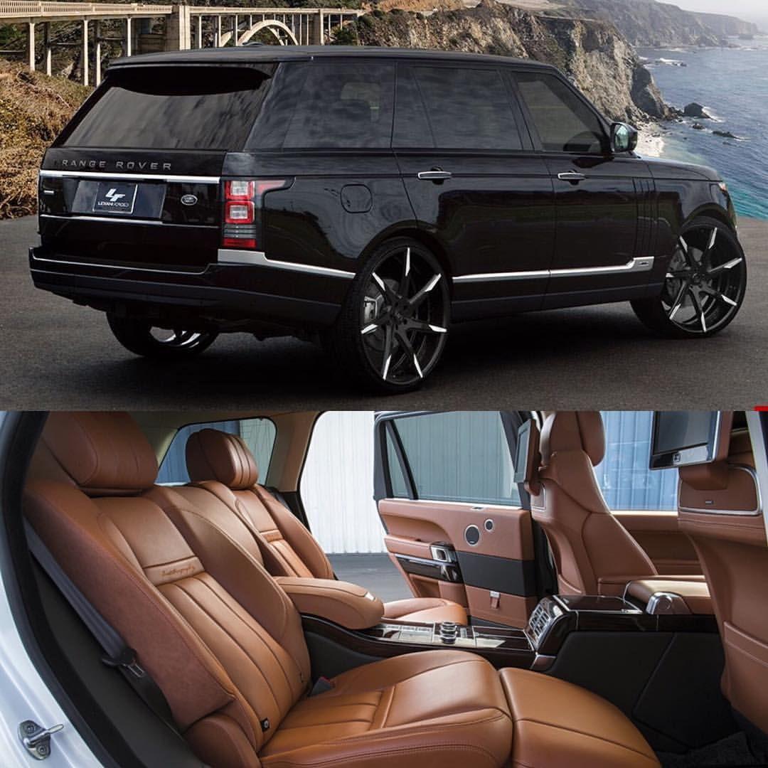 "Photo of LEXANI on Instagram: ""@landroverusa  Range Rover Autobiography on LZ-109 #Lexani #LFWheels #CustomWheels #ForgedWheels #RangeRover"""