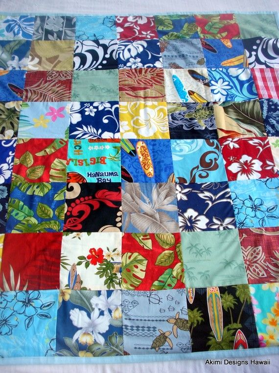 Hawaiian Prints Are Fun My Happy Art Tropical Quilts Patchwork