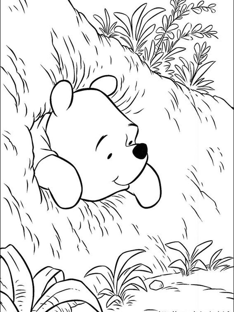 adult winnie the pooh characters coloring pages winnie the pooh ... | 1000x750