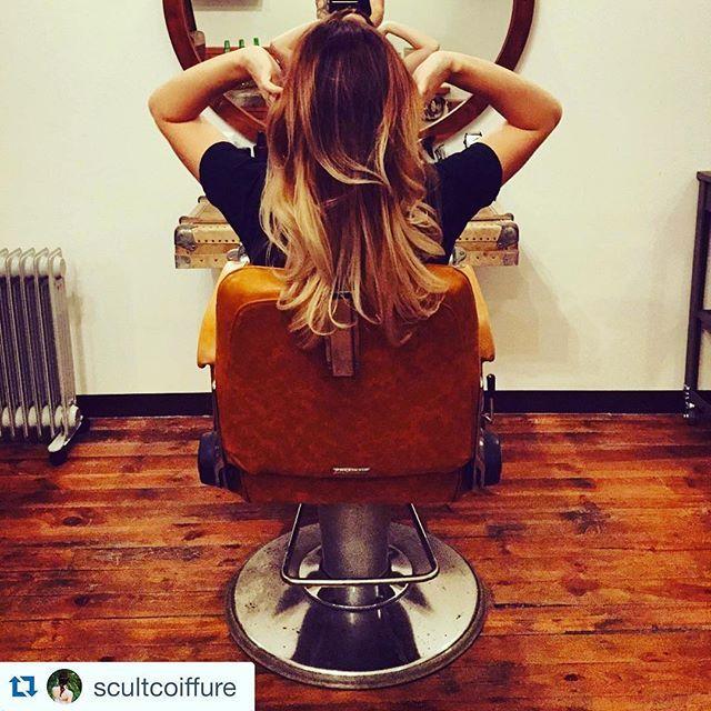 #Repost ! 😊 une sublime coloration avec @vegetalement ! by @scultcoiffure ... #cheveuxsains #scultcoiffure #coiffeurclermontferrand #clermontferrand #vegetalementprovence #18ruemassillon #cestmoiquilaifait #jemecoiffetouteseule #ombrehair #tieanddye