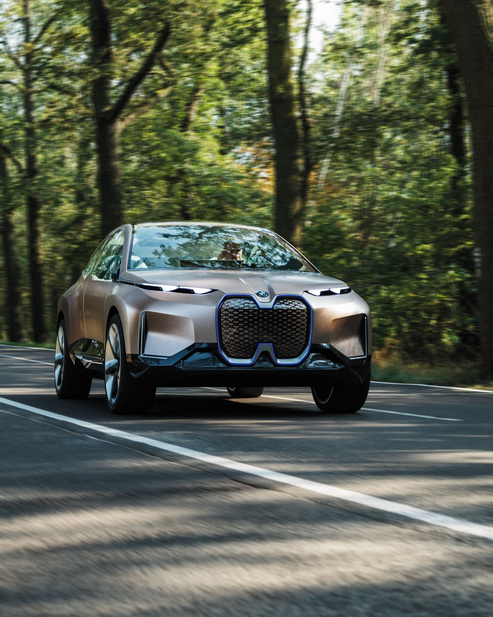 Bmw Vision Inext Technology Future Edrive Electric Pure