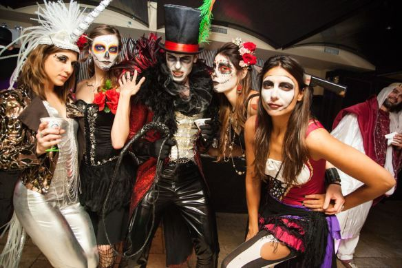 Del Posto Halloween Party