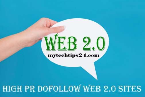 High PR Dofollow Web 2.0 Sites ...
