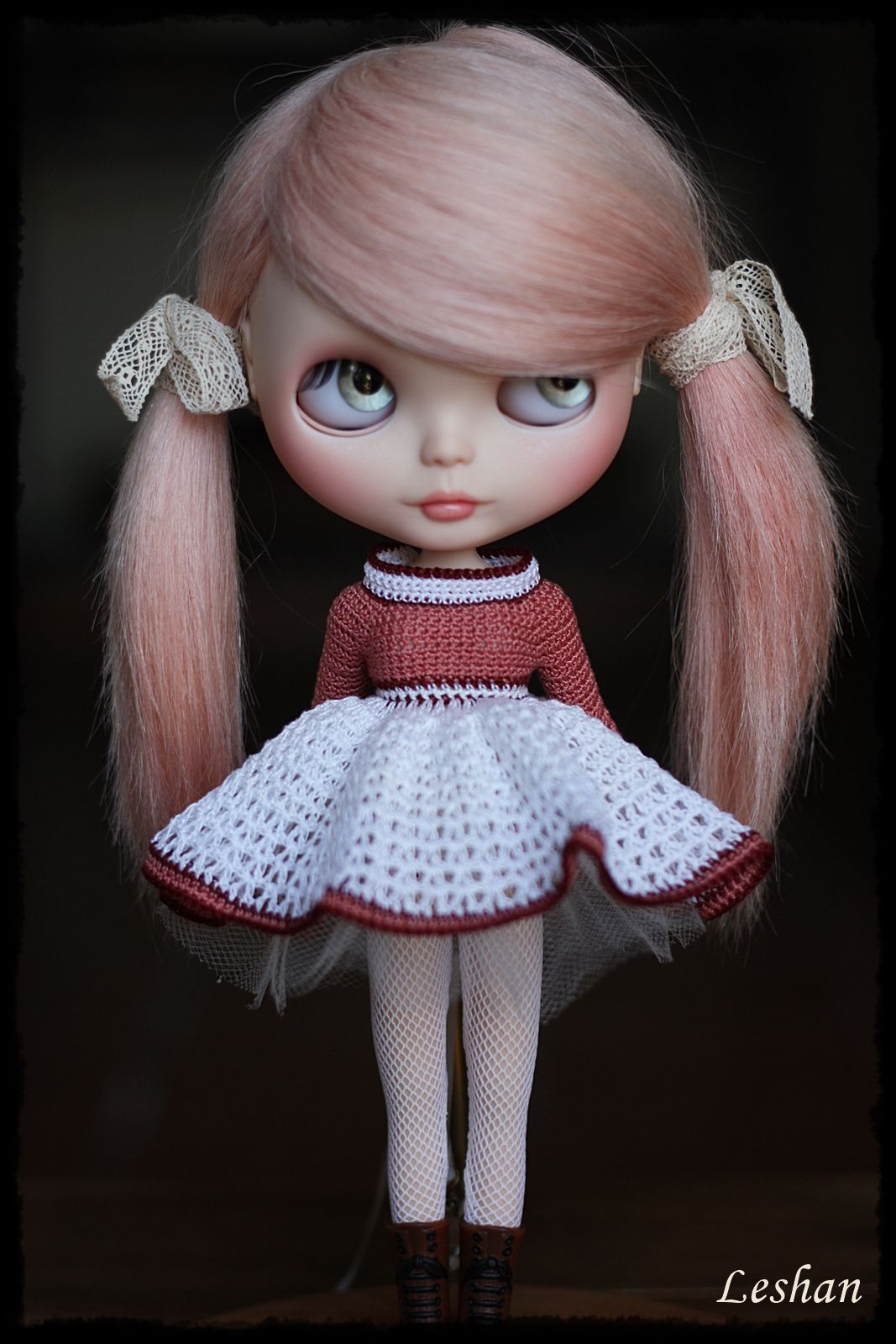 New style with long sleeves dolls bjd and big eyes margaret keane