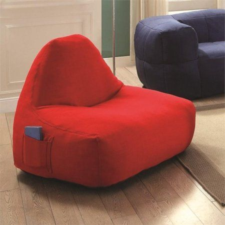 Pleasing Coaster Company Lazy Life Paris Chair Red Products Machost Co Dining Chair Design Ideas Machostcouk