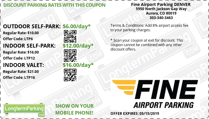 Free Coupons Free Reservations Fine Airport Parking Denver Longtermparking Com Cheap Airport Discount Parking Savings Airport Parking Airport Coupons