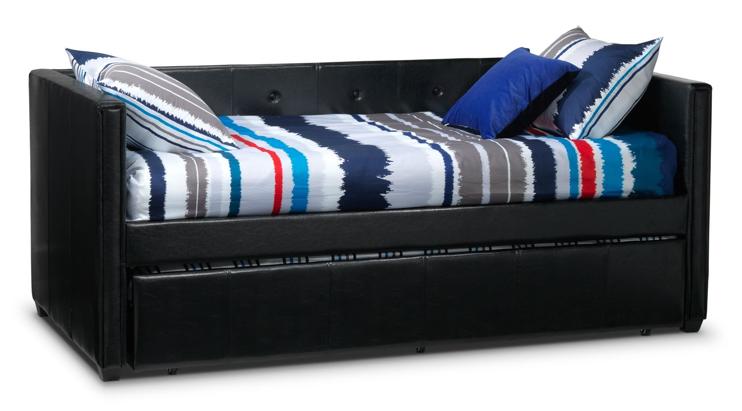 Leons Bedroom Furniture Aubrey Upholstery Daybed Leons Decorating For Boys Rooms