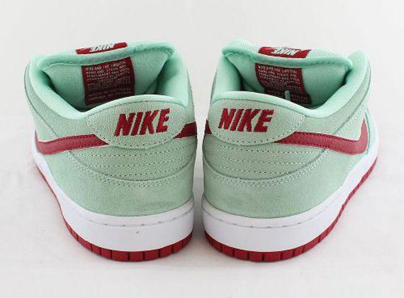 Nike SB Dunk Low   Medium Mint   Gym Red
