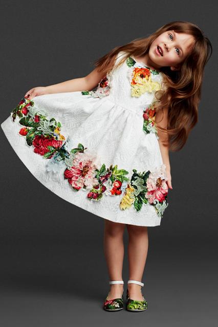 68302e9686402 Dolce Gabbana Kids FW13 14 Tenues Enfants