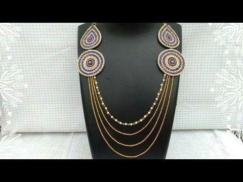How Make Bridal Necklace How To Make Designer Necklace DIY