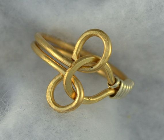 PUZZLE RING unisex design  14K gold filled ring by Untwistedsister, $20.00