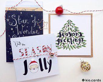 Items Similar To Sale Christmas Cards Christian Christmas Carol