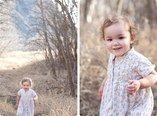 Yeah, this is my cute niece... these pictures are amazing!!!
