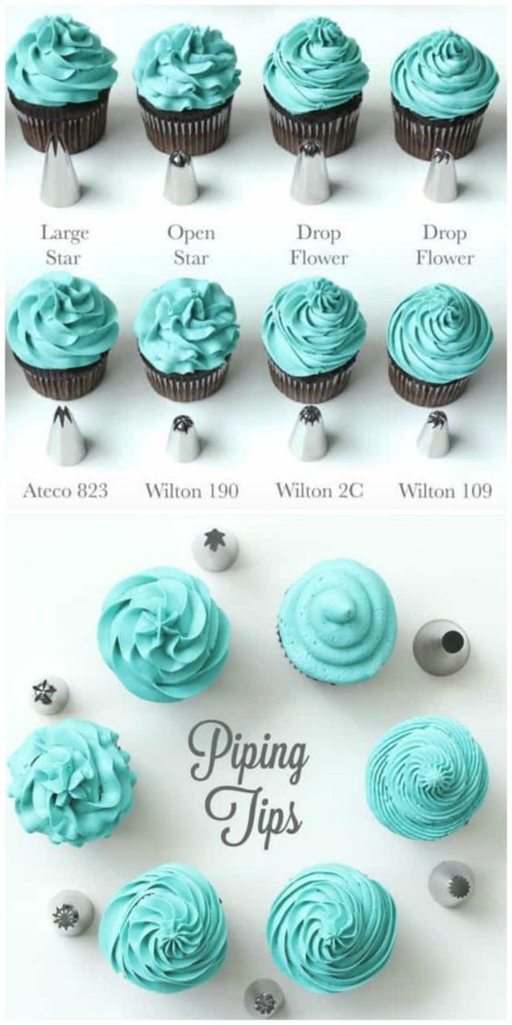 If you love baking, this handy Cupcake Frosting Guide will assist you in creating amazing color and flavor combinations. #cupcakefrostingtips
