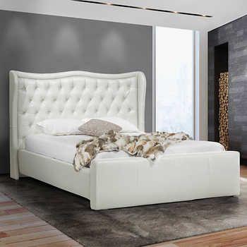 Arabella White Bed Interior Design Bed, White bedding