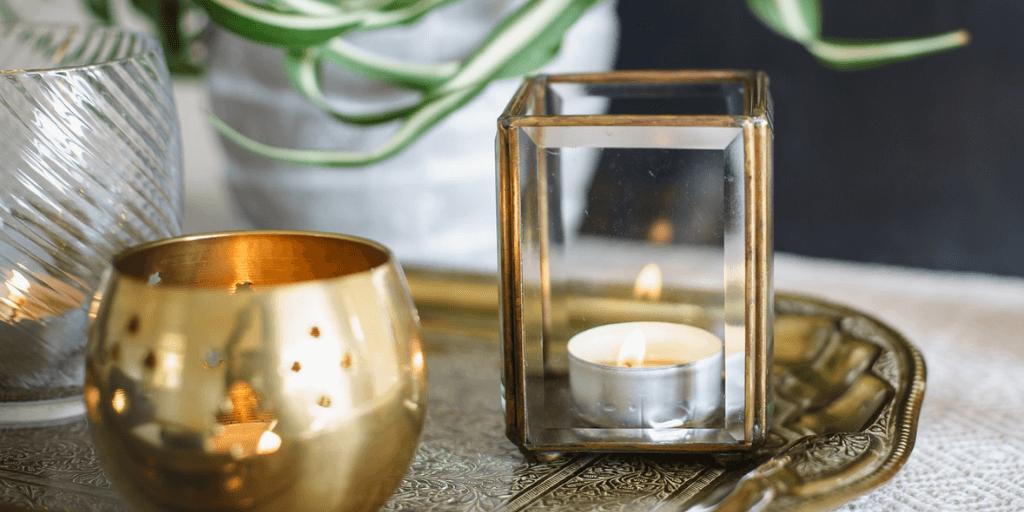 Como Decorar Con Velas La Casa Muero De Amor Por La Deco Velas De Aceite Decoracion Con Velas Velas