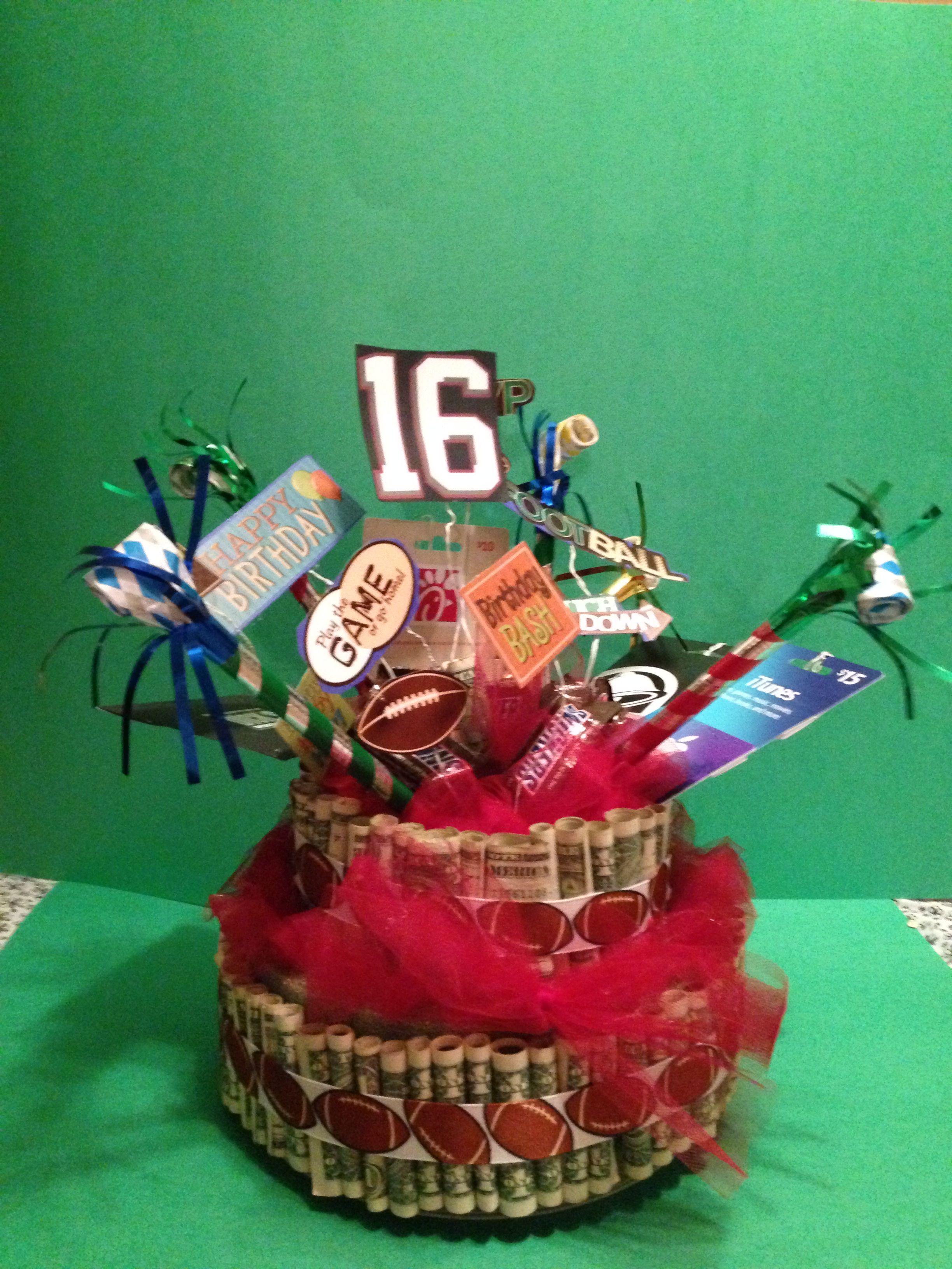 16th birthday money cake birthday money money creation