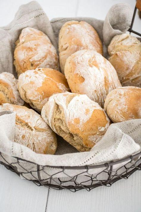 Schnelle Dinkel-Brötchen #fastrecipes