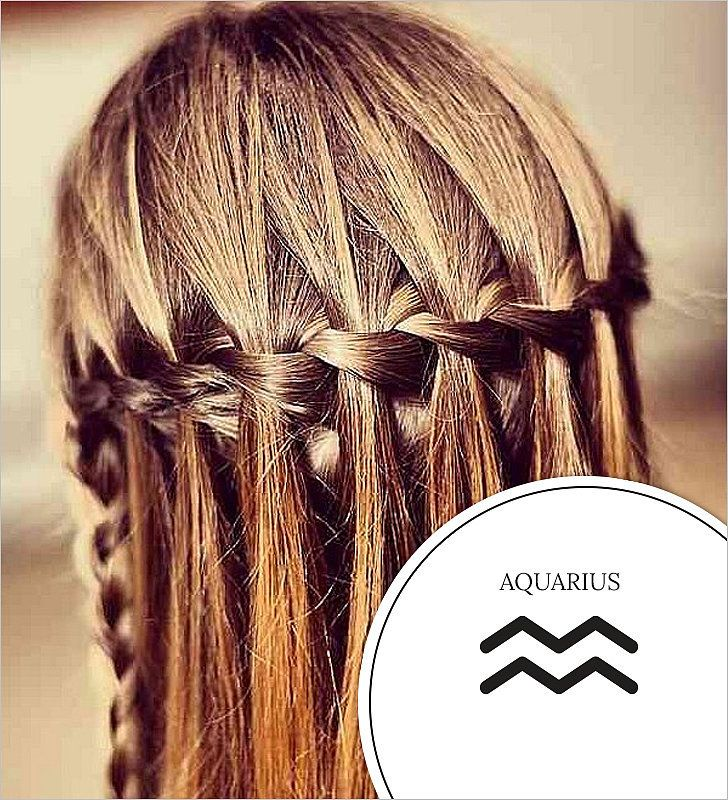 Aquarius's Waterfall Braid and More Best Braids For Your Zodiac Sign