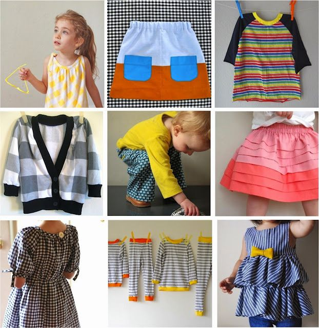 Dana Made It faves from Kids Clothes Week Challenge at Elsie Marley