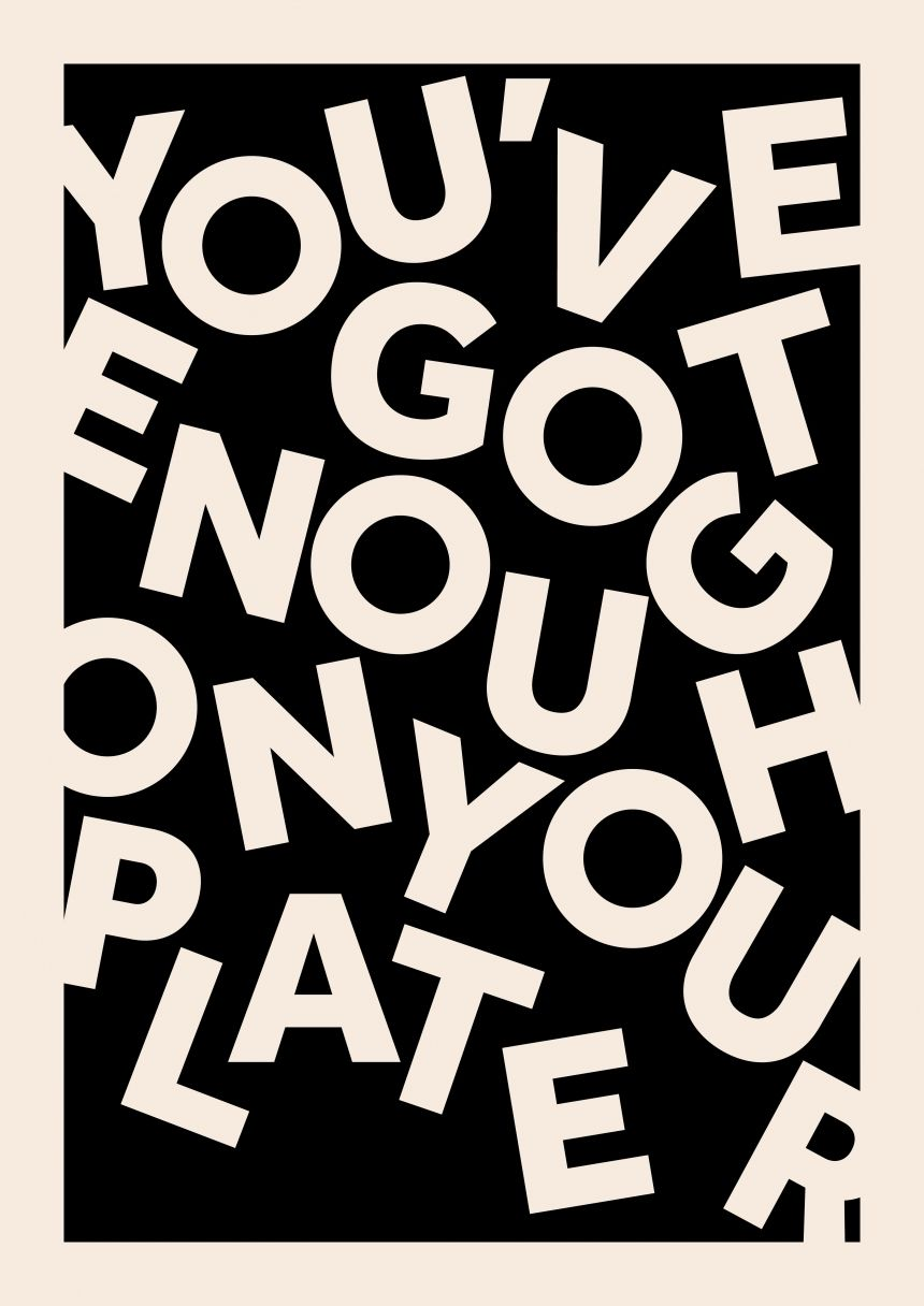 typography | encouragement