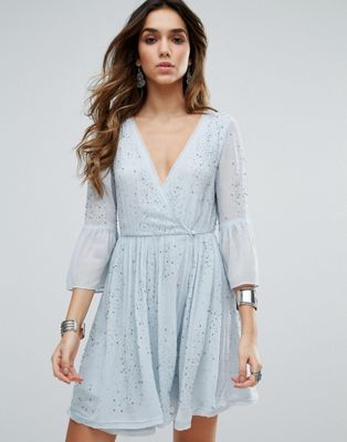 480b3601ad Free People Winter Solstice Embellished Party Dress. Free People Winter  Solstice Embellished Party Dress Women s Evening ...