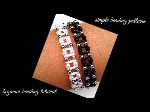 Photo of Beginner beading tutorial. Easy beading for DIY beaded bracelets. jewelry making