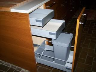 Beautiful Ikea Kitchens With Trash Pull Outs.