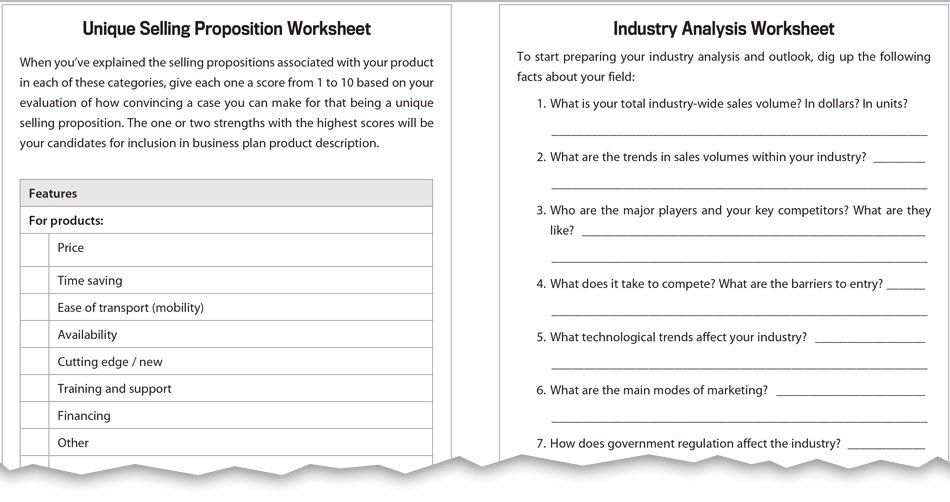 The Essential Guide To Writing A Business Plan Business Planning   Industry  Analysis Example  Industry Analysis Example