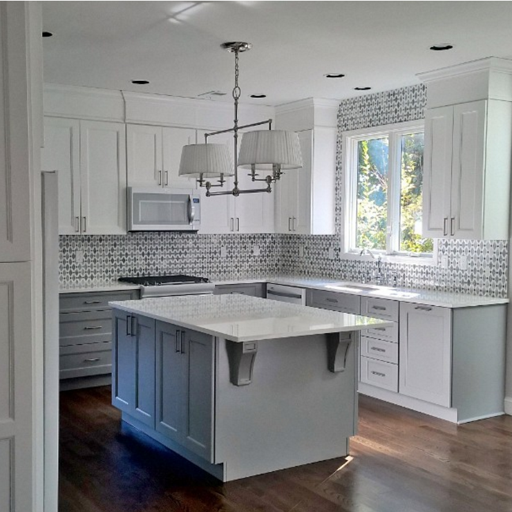 28 Antique White Kitchen Cabinets Ideas In 2019: Mugworth Thassos White And Basalt Diamond Polished Stone