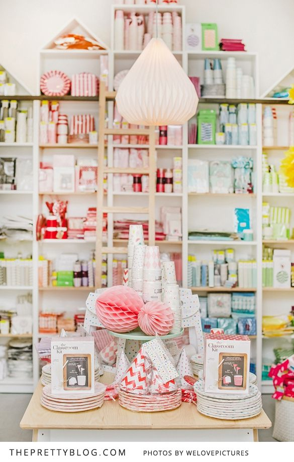 In Good Company Cape Town Party Decor Shop Store Layout Store Decor