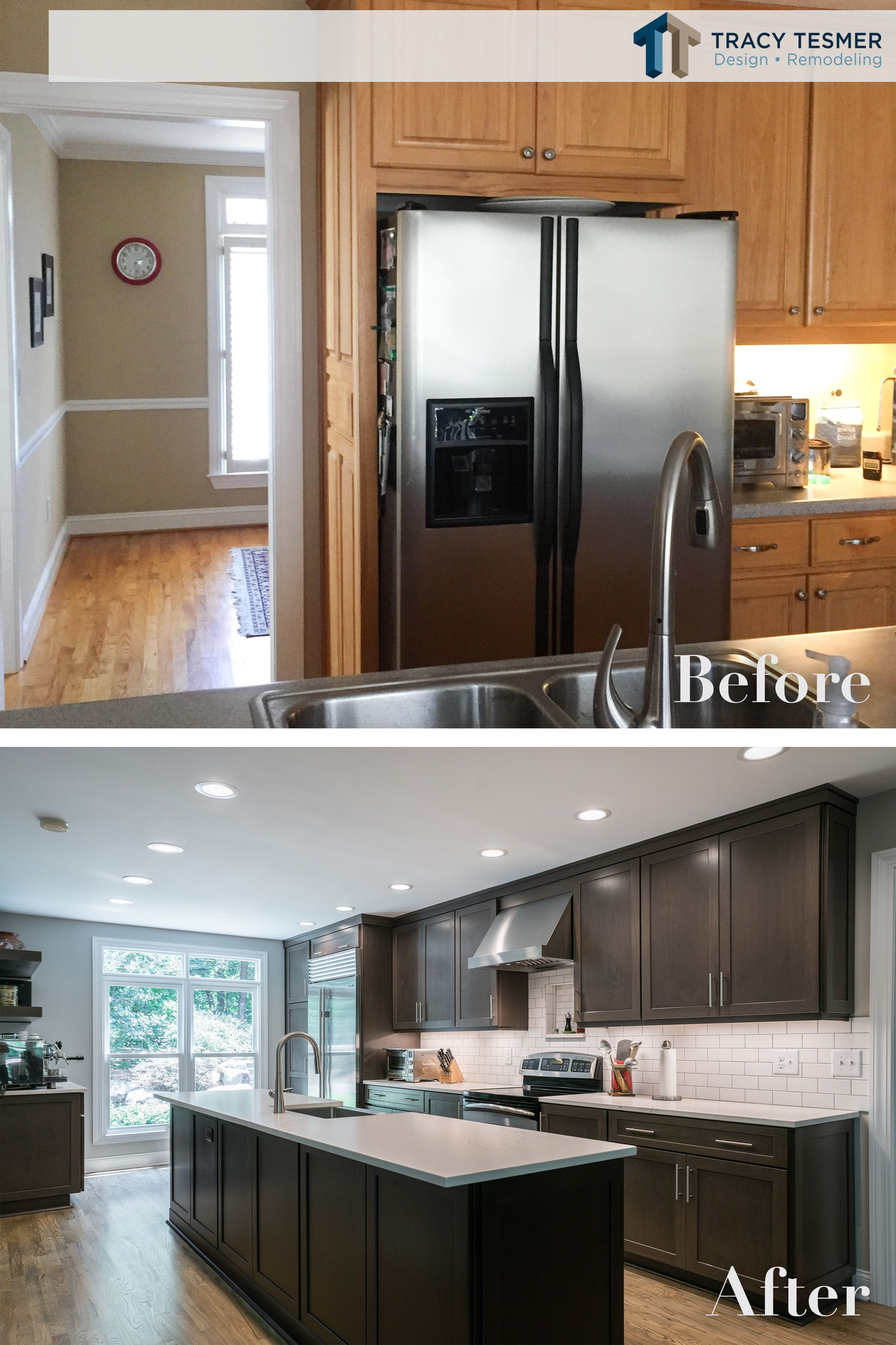This Kitchen Became One Of A Kind After Our Remodel We Took Out