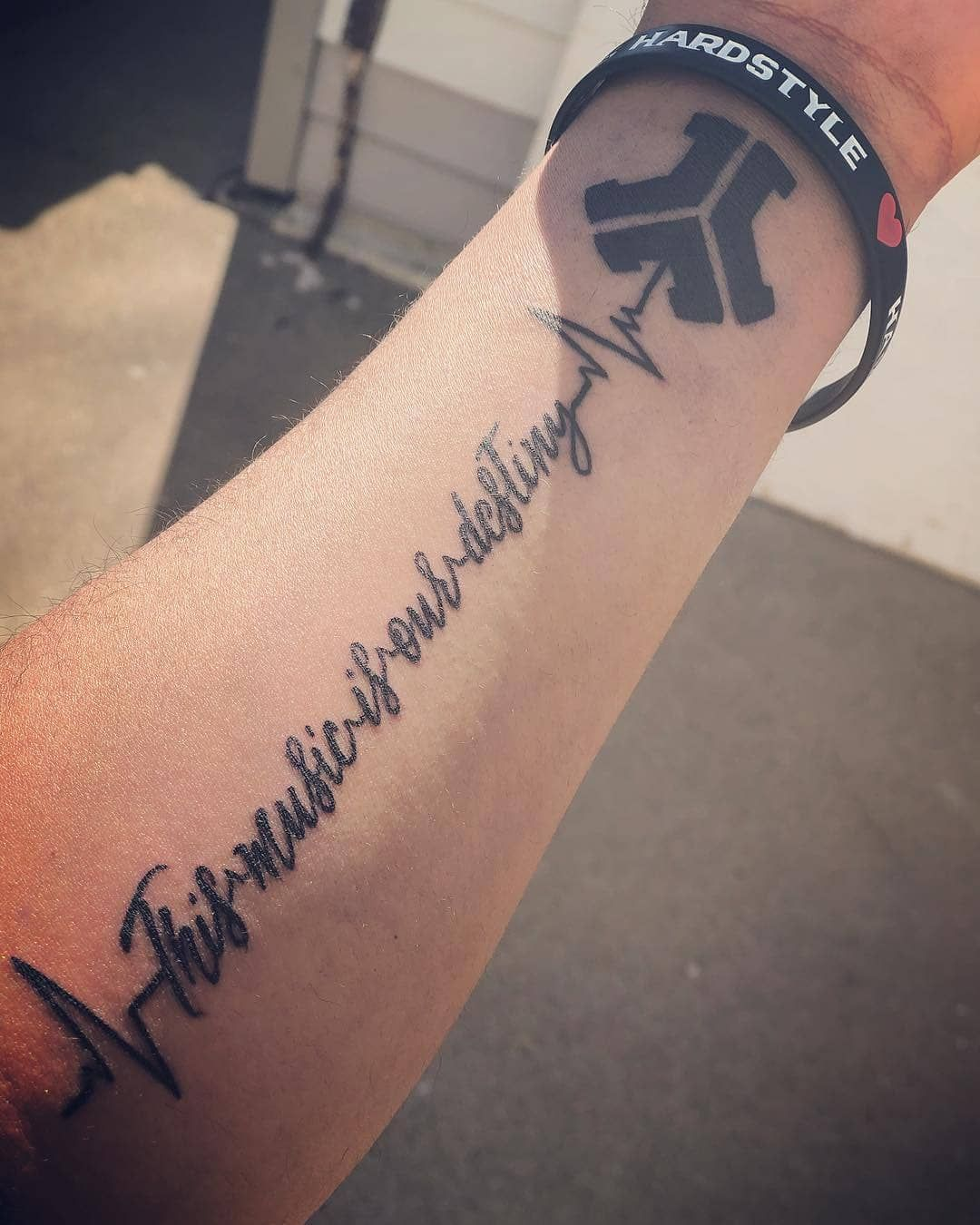 This Music is our Destiny! | Hardstyle Tattoo | Defqon.1