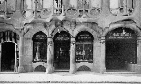 Casa batll maison martignole en 1922 el colmado fue trasladado a los bajos de la casa batll - Casa luthier barcelona ...