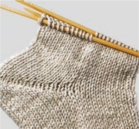 Technik des Sockenstrickens – HANDMADE Kultur