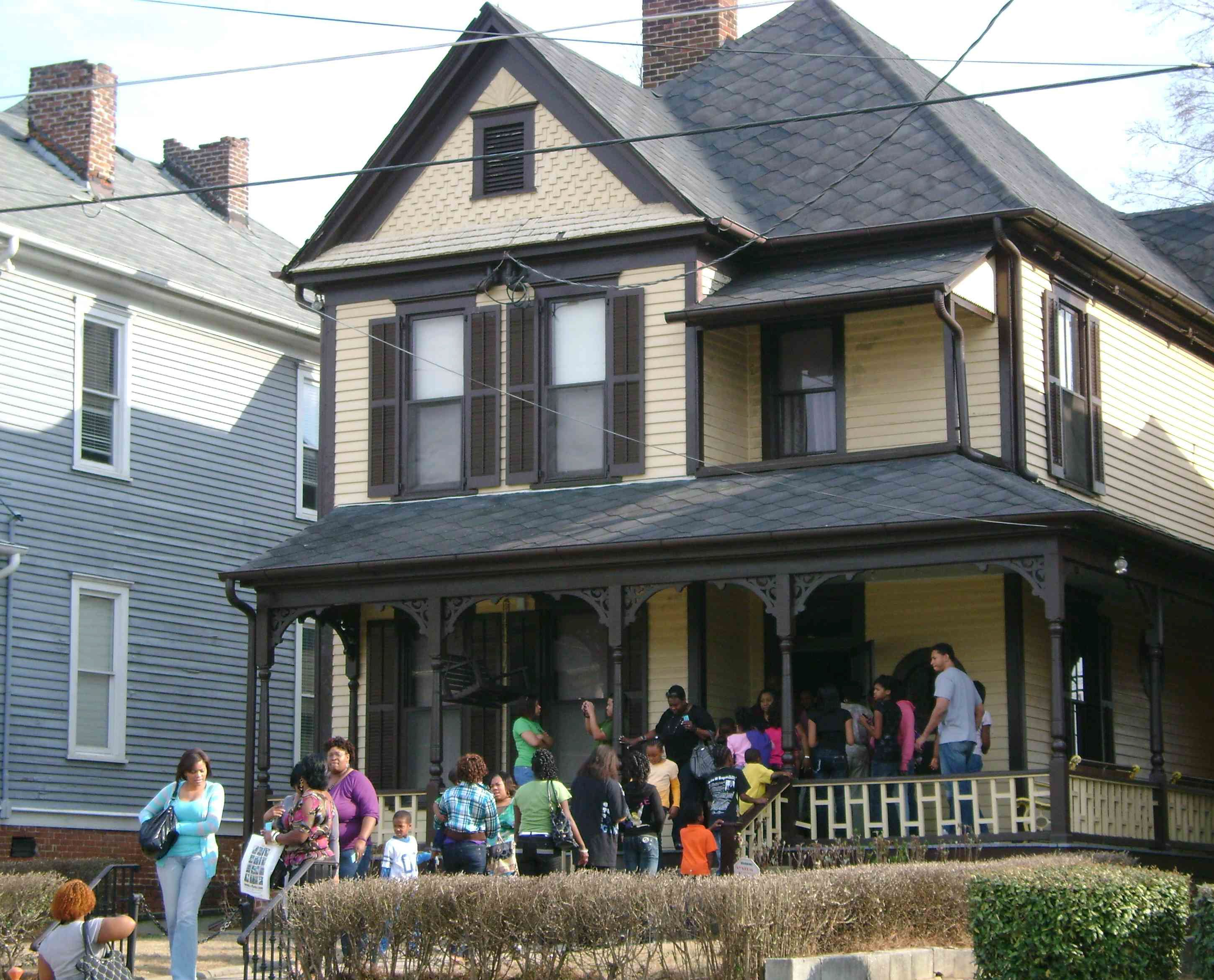 Martin Luther King House Museum Atlanta