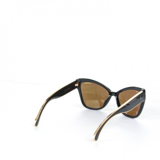 65e6c5eea CHANEL Acetate CC Cat Eye Sunglasses 5271 Black | Closet Picks ...