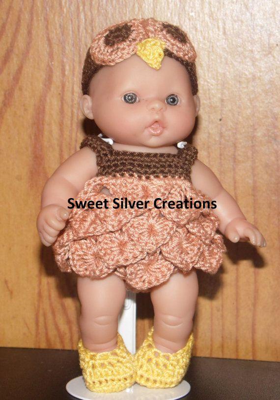 Crochet Pattern 5.5 inch Berenguer/Lots von SweetSilverCreations