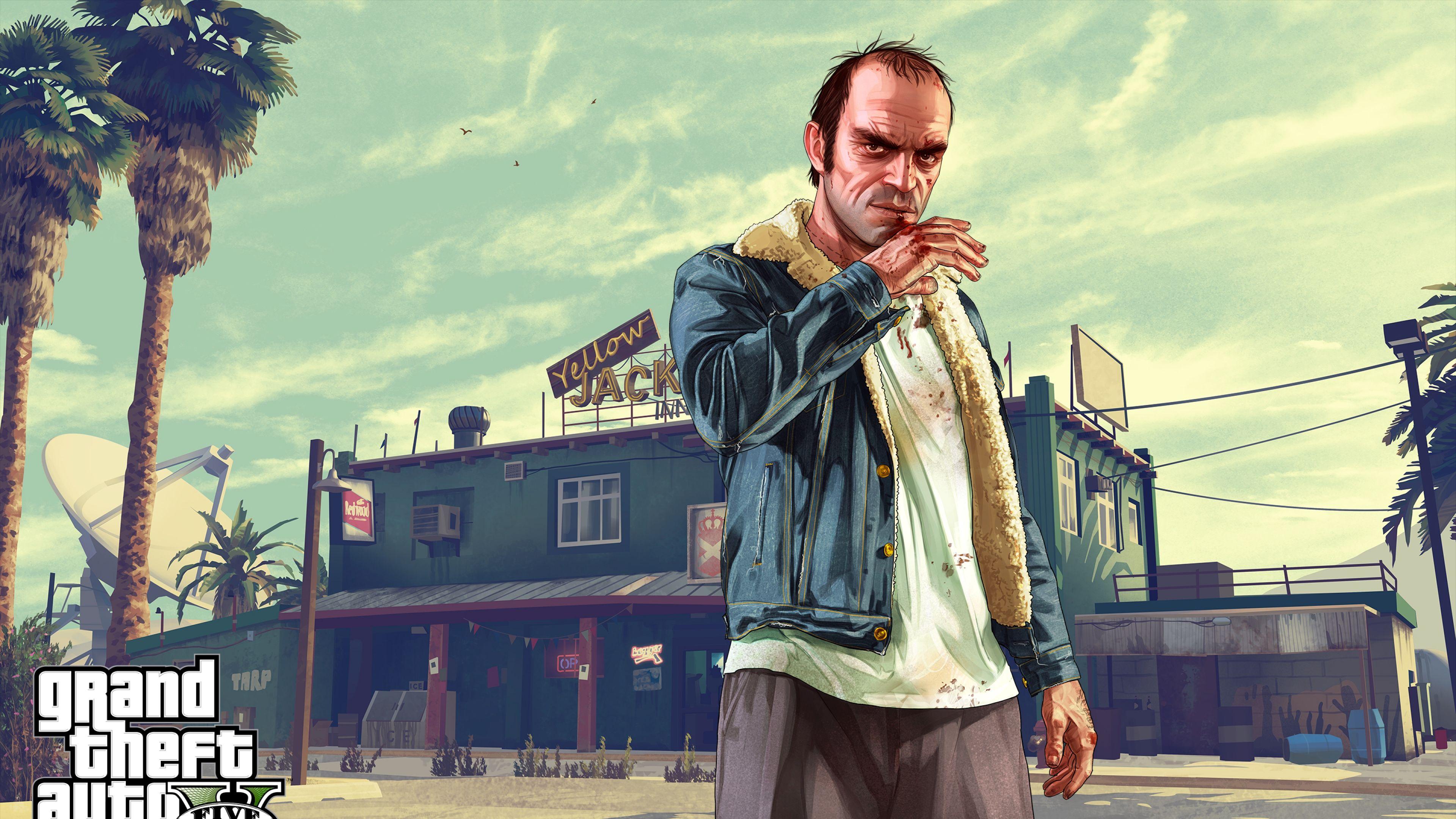 Grand Theft Auto Trevor 4k Hd Wallpapers Grand Theft Auto Gta Trevor Philips