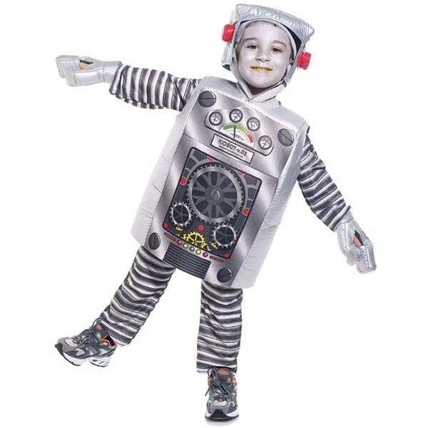 toddler robot costume roboter pinterest roboter kost me kost m und halloween. Black Bedroom Furniture Sets. Home Design Ideas