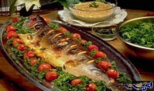 سمك مقلي بالكورن فليكس المقادير سمك فيليه دقيق كمون ليمون ثوم بهارات لبن كورن فليكس بيض Yummy Seafood Food Baked Fish