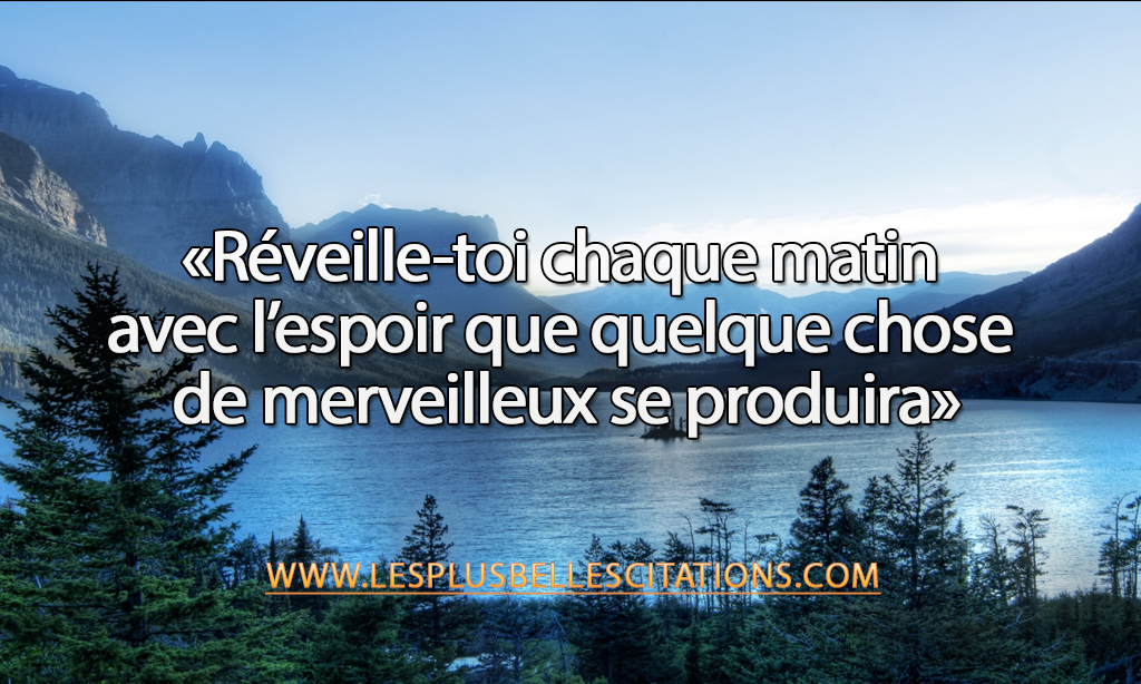 Réveille toi chaque matin | French quotes, Words, Wise words