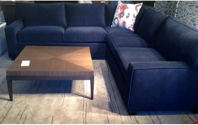 Sofa Covers An Update on Our Sectional Search Navy SectionalNavy Blue CouchesNavy
